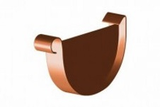 Заглушка желоба (универсальная) 125 мм